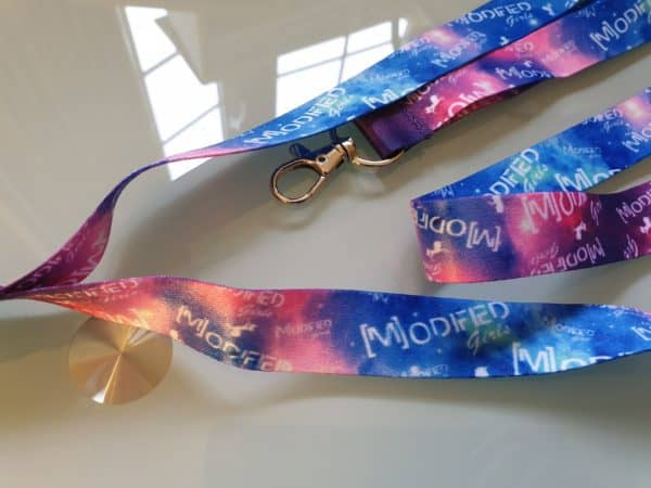 Space Unicorn Lanyard 2