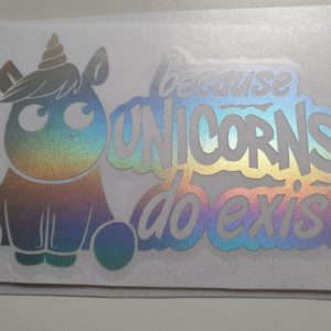 Because Unicorns do Exist