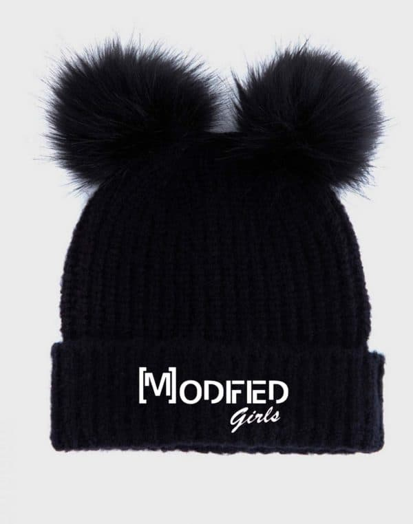 Modified Girls Pom Pom Hat